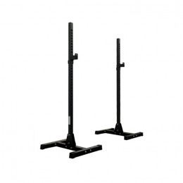 Heavy Duty Squat Rack Pair with Bench Stand