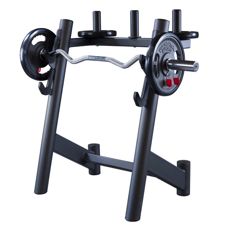Curl Bar Rack