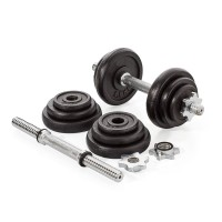 Cast Iron 10 kg Adjustable Dumbbell Set
