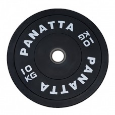 Olympic Bumper Weight Plate Black Rubber