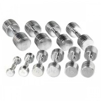 Chrome Steel Dumbbell