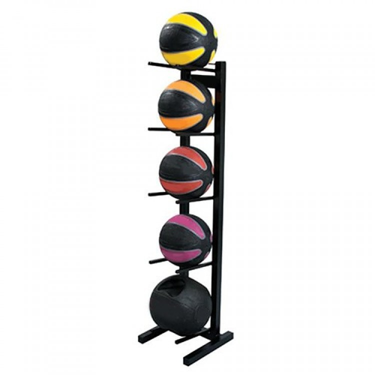Medicine Ball Rack - Up to 5 Medicine Balls