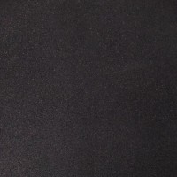 Pure Black Rubber Flooring Tile