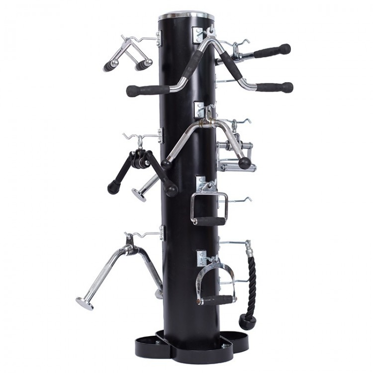 Vertical Storage Rack for Cable Attachments