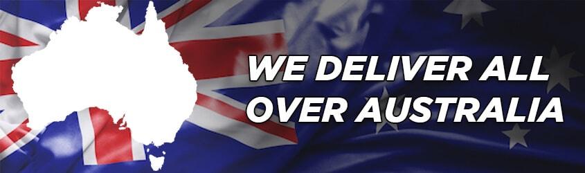 We delivery Australia wide!