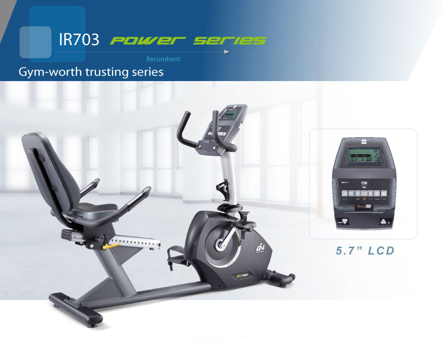 Recumbent Bike from BH Fitness - Commercial gym equipment