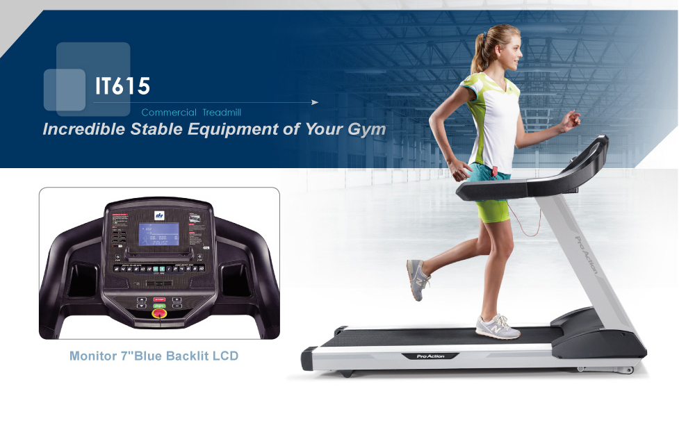 The IT615 Professional Treadmill