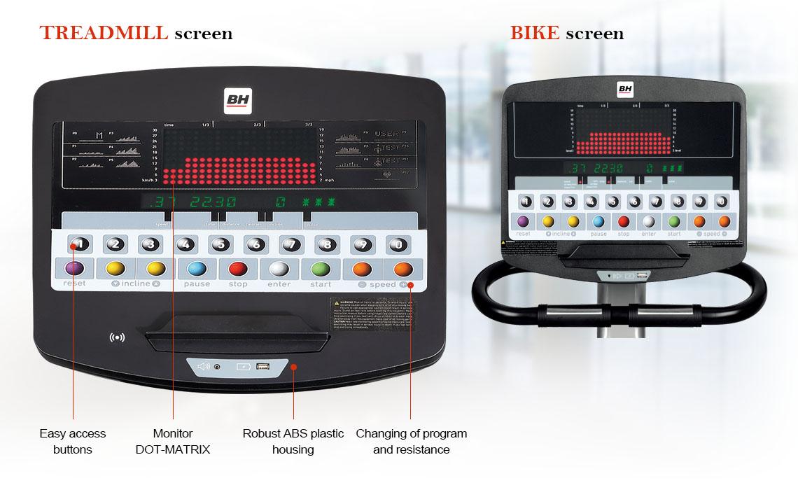 LED Dot-Matrix Console Screen