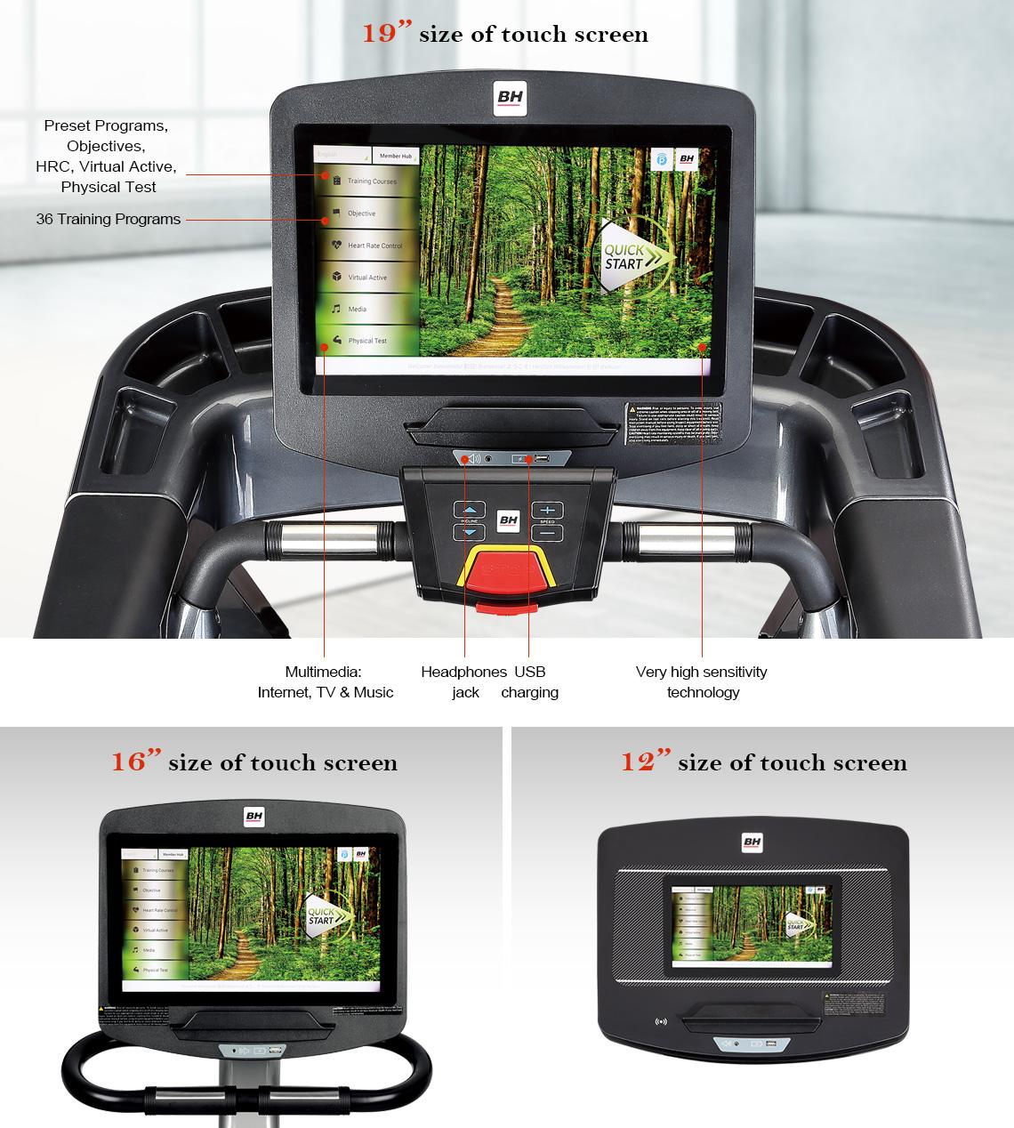 SmartFocus Console for Treadmills