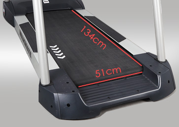 Large Running Surface