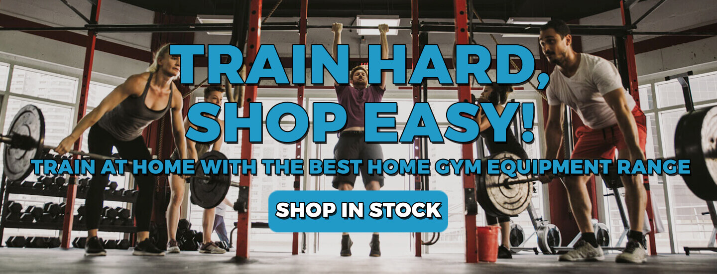 Home Gym Equipment Back In Stock!